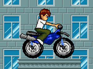 骇客小子骑摩托