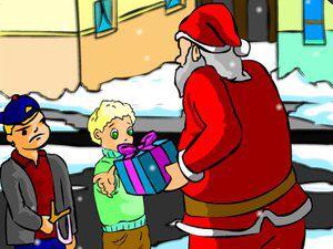 圣诞老人送礼物2