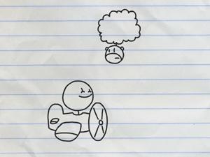 铅笔涂鸦创意动画21