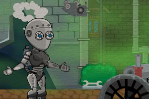 蒸汽�C器人