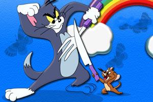 给猫和老鼠上色