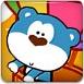 蓝熊与热气球