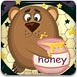 大熊吃蜂蜜