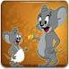 可爱小老鼠偷吃