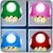 彩色蘑菇对对碰