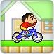 蜡笔小新骑自行车1