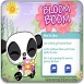 熊猫爱情花朵