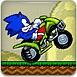 索尼克骑摩托车