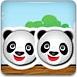 熊貓基情碰撞