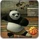 跟功夫熊猫比投篮