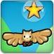 飞翔的猫头鹰