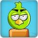 弹弓打愤怒的小鸟