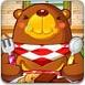 贪吃熊吃饼干