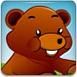 可愛熊騎電動車