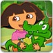朵拉照顾小鳄鱼