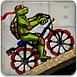 忍者神龟骑自行车