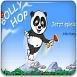 熊猫玻璃蹦床
