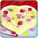 芭比制作情人节相思蛋糕
