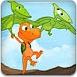 小恐龙捡贝壳