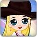 騎馬的小女孩