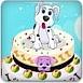 狗狗的生日蛋糕