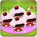 樱桃巧克力纸杯蛋糕