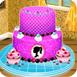 芭比蛋糕装饰