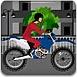 美女骑摩托