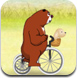 熊大熊二骑自行车