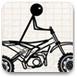 火柴人越野摩托車