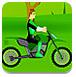 绿灯侠骑自行车