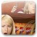 美女超市偷零食