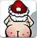 圣誕老人光屁股小游戲
