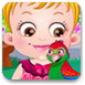 可愛寶貝與小鸚鵡
