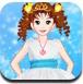 冰藍公主裙