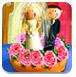 婚禮蛋糕的裝飾