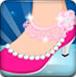 爱丽儿公主设计鞋子