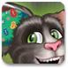 给汤姆猫的耳朵做手术