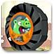 愤怒小鸟轮胎车