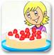 少女教你做草莓小蛋糕