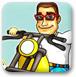 乡村摩托车赛
