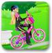 芭比骑自行车2