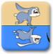 小白兔和倒影