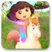 朵拉照顧可愛小馬