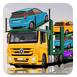运输汽车的大卡车3