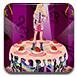 芭比歌手蛋糕装饰