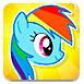 飛翔的彩虹小馬