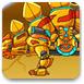 組裝金色霸龍機器人