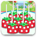 制作美味的草莓棒棒糖