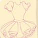 设计芭比的万圣节礼服